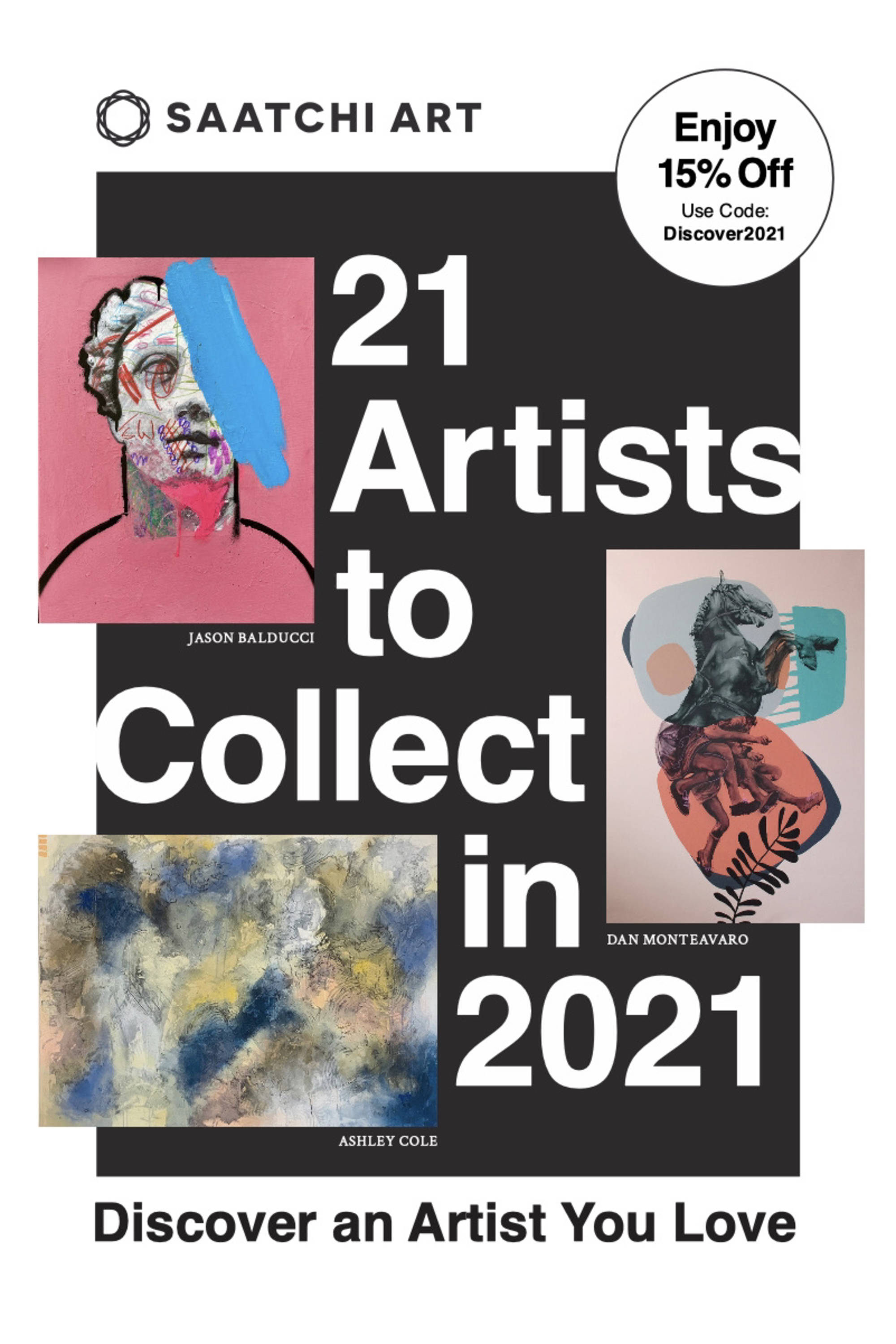Saatchi Art: 21 Artists to Collect in 2021